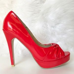 Wet Seal Peep Toe Platform Heels